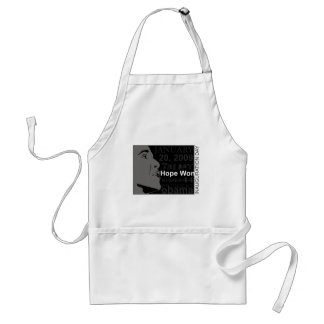 President Obama - Inauguration day Adult Apron