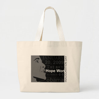 President Obama - Inauguration day Canvas Bag
