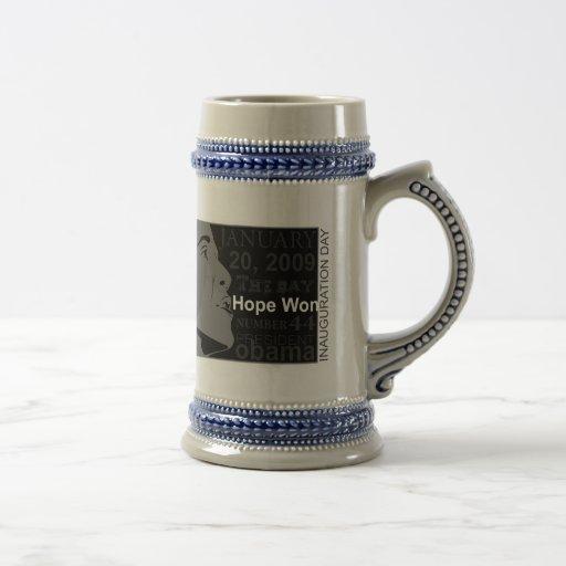 President Obama - Inauguration day Coffee Mug