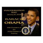 President Obama Inauguration Day Commemorative Poster