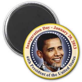 President Obama Inauguration Day Magnet