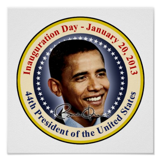 President Obama Inauguration Day Poster