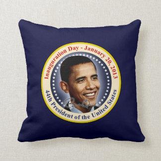 President Obama Inauguration Day Throw Pillow
