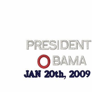 PRESIDENT OBAMA INAUGURATION EMBROIDERED POLO