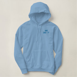 President Obama Inauguration  Fleece Jogger Embroidered Hoodie