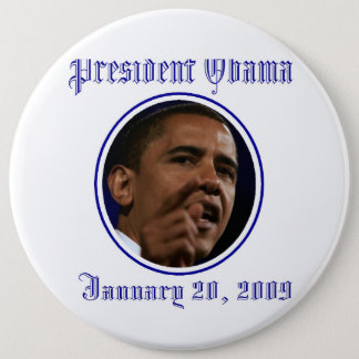 President Obama Inauguration Keepsake Large Pinback Button