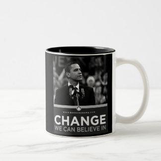 President Obama Inauguration Keepsake Two-Tone Coffee Mug