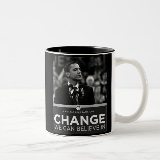 President Obama Inauguration Keepsake Two-Tone Coffee Mug