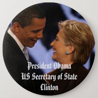 """President Obama Inauguration Keepsakes 6"""" Button"""