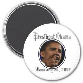President Obama Inauguration Keepsakes Colossal 6 Refrigerator Magnet