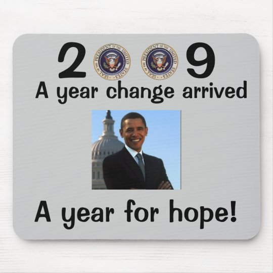 President Obama Inauguration Mouse Pad