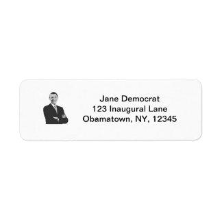 President Obama Label
