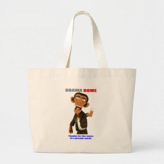 President Obama - Money Grab Jumbo Tote Bag