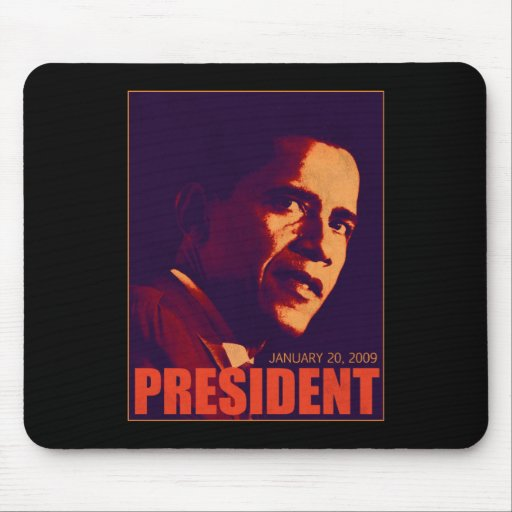 President Obama Mouse Pads