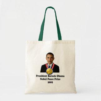 President Obama Nobel Peace Prize Winner 2009 Bags