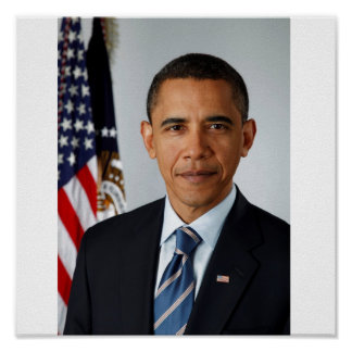 President Obama, Official Portrait Posters