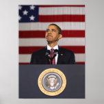 President Obama Painting Print
