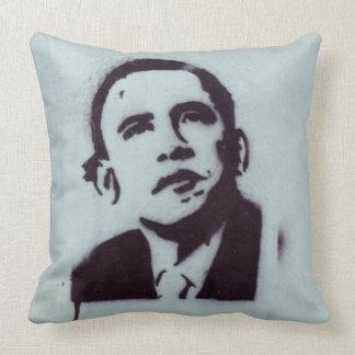 President Obama Throw Pillows