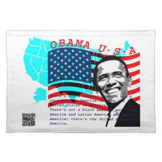 President Obama Cloth Placemat