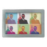 President Obama Pop Art Belt Buckle