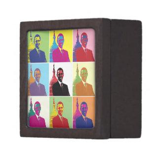 President Obama Pop Art Keepsake Box