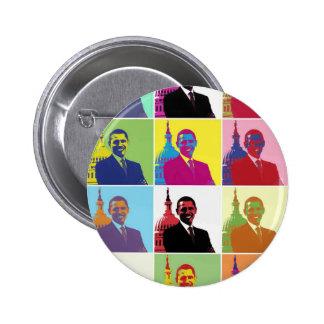 President Obama Pop Art Pinback Button