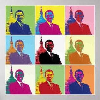 President Obama Pop Art Poster
