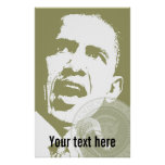 President Obama - Poster - template