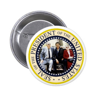 President Obama Presidential Commemorative Button
