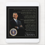 President Obama Quote Mouse Pad