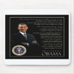 President Obama Quote Mouse Pads