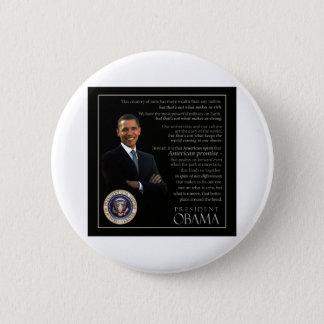 President Obama Quote Pinback Button