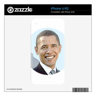 President Obama iPhone 4 Decal