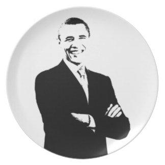 President Obama Stencil Plate