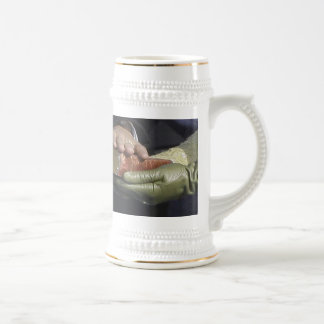 President Obama THE SWEARING-IN Photo 18 Oz Beer Stein