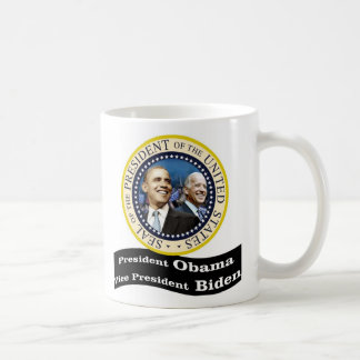 President Obama Vice - President Biden Classic White Coffee Mug