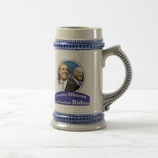 President Obama Vice President Biden 18 Oz Beer Stein