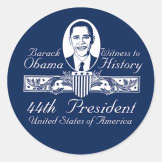 President Obama Victory Sticker