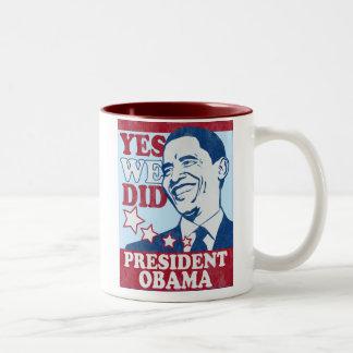President Obama Vintage Mug