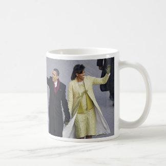 President Obama WALK ON PENNSYLVANIA Ave Classic White Coffee Mug
