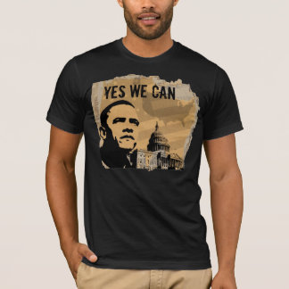 PRESIDENT OBAMA-YES WE CAN CPTL T-Shirt