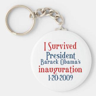 President Obamas inauguration Key Chain