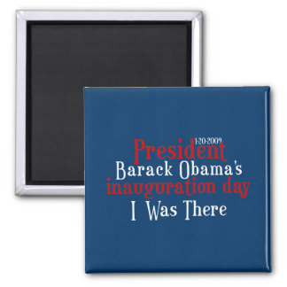 President Obamas inauguration Fridge Magnet