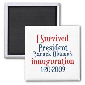 President Obamas inauguration Fridge Magnets