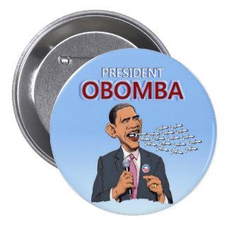 President Obomba Button