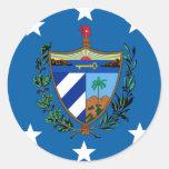 President Of Cuba, Croatia Classic Round Sticker