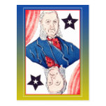 President of Stars - Chester Arthur Post Cards
