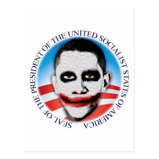 President of the USSA Postcard