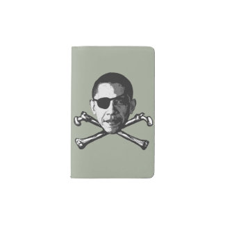 President=Pirate Funda Para Libreta Y Libreta Pequeña Moleskine