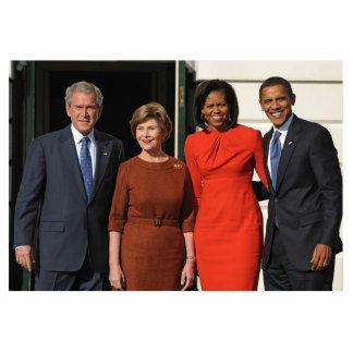 president-president-elect January Photo Sculpture